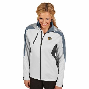 Chicago Blackhawks Womens Discover Jacket (Color: White)