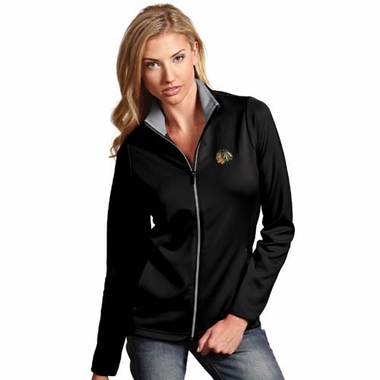 Chicago Blackhawks Womens Leader Jacket (Team Color: Black)