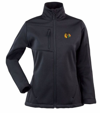 Chicago Blackhawks Womens Traverse Jacket (Team Color: Black)