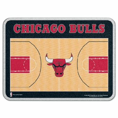 Chicago Bulls 11 x 15 Glass Cutting Board