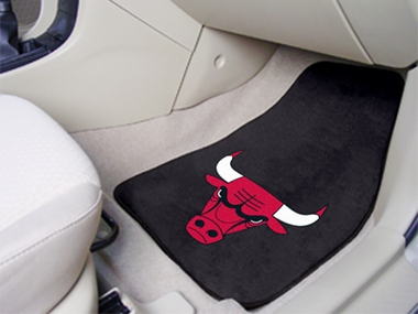 Chicago Bulls 2 Piece Car Mats