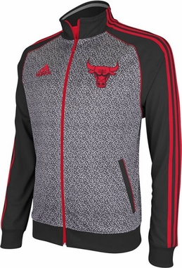 Chicago Bulls 2012 Static Performance Jacket