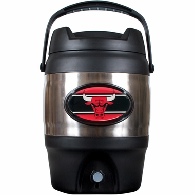Chicago Bulls 3 Gallon Stainless Steel Jug
