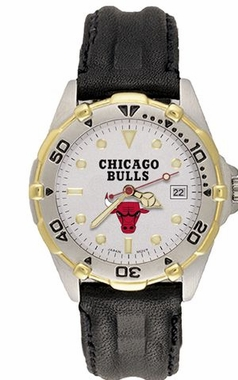 Chicago Bulls All Star Mens (Leather Band) Watch