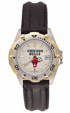 Chicago Bulls All Star Womens (Leather Band) Watch