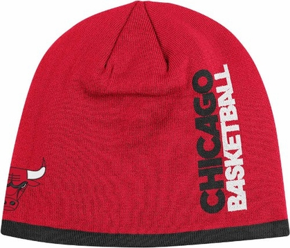 Chicago Bulls Authentic Team Cuffless Knit Hat