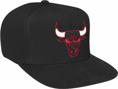 Chicago Bulls Basic Logo Snap Back Hat