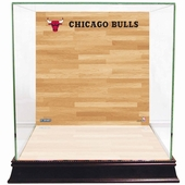 Chicago Bulls Display Cases