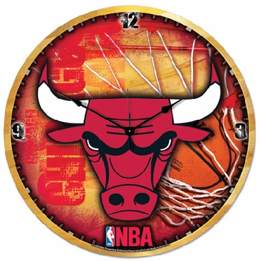 Chicago Bulls Big 18 Inch Hi Definition Clock
