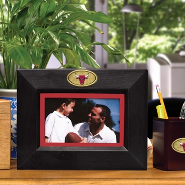 Chicago Bulls BLACK Landscape Picture Frame