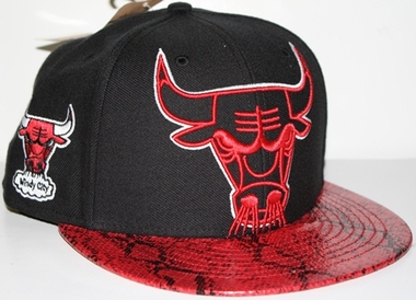 Chicago Bulls Black Mamba Snap Back Hat