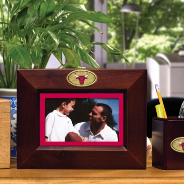 Chicago Bulls BROWN Landscape Picture Frame