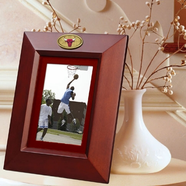 Chicago Bulls BROWN Portrait Picture Frame