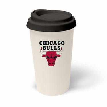 Chicago Bulls Ceramic Travel Cup