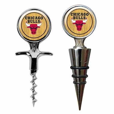 Chicago Bulls Corkscrew and Stopper Gift Set