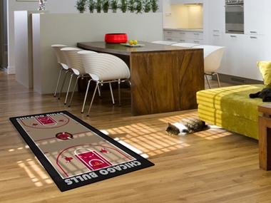 Chicago Bulls Court Runner Rug
