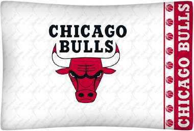 Chicago Bulls Individual Pillowcase