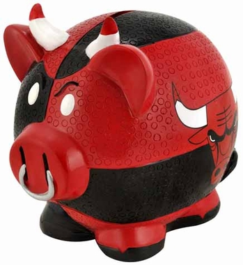 Chicago Bulls Piggy Bank - Thematic Large