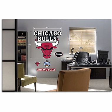 Chicago Bulls Logo Fathead Wall Graphic