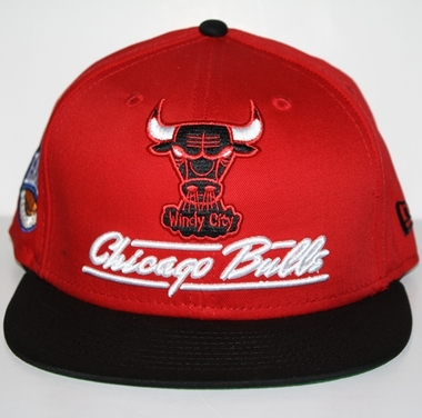 Chicago Bulls New Era 9FIFTY Lightning Strike Snapback Hat