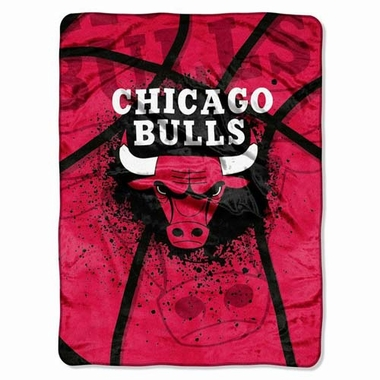 Chicago Bulls Oversize Plush Blanket