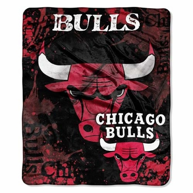 Chicago Bulls Plush Blanket