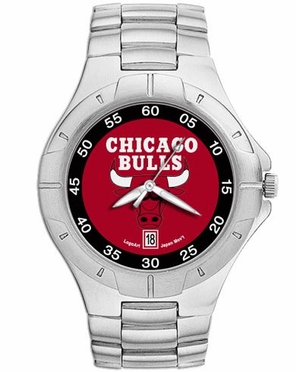 Chicago Bulls Pro II Men's Stainless Steel Watch