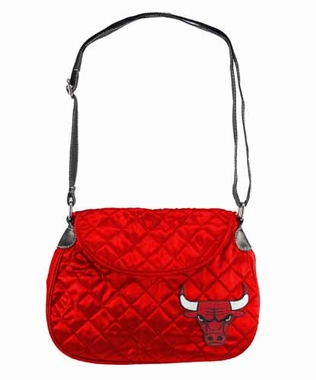 Chicago Bulls Quilted Saddlebag