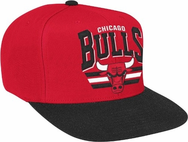 Chicago Bulls Stadium Throwback Snapback Hat