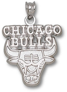 Chicago Bulls Sterling Silver Pendant
