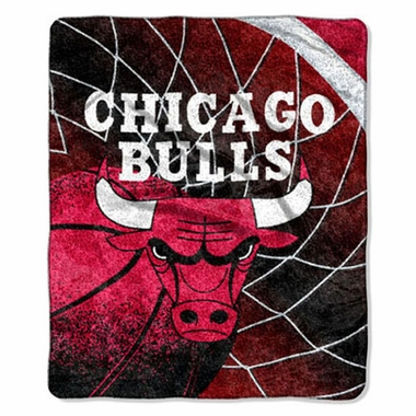 Chicago Bulls Super-Soft Sherpa Blanket