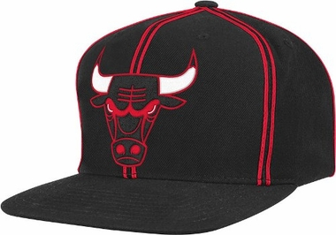 Chicago Bulls ThrowBack Double Soutache Snap Back Hat