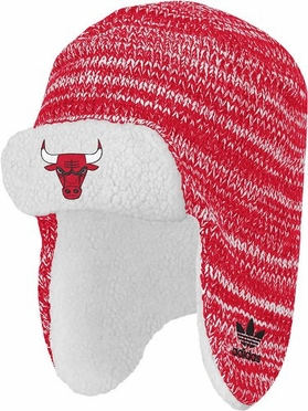 Chicago Bulls Trooper Knit Hat