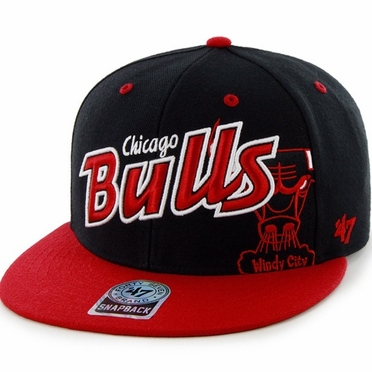 Chicago Bulls Underglow MVP Snap Back Hat