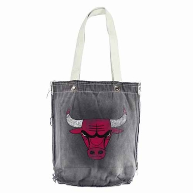 Chicago Bulls Vintage Shopper (Black)
