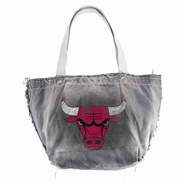 Chicago Bulls Vintage Tote (Black)
