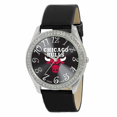 Chicago Bulls Women's Glitz Watch