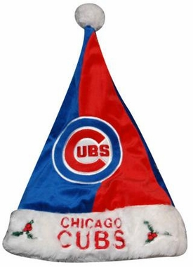 Chicago Cubs 09 Santa Hat