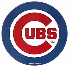 Chicago Cubs 12 Inch Individual Car Magnet
