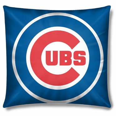 Chicago Cubs 15 Inch Applique Pillow