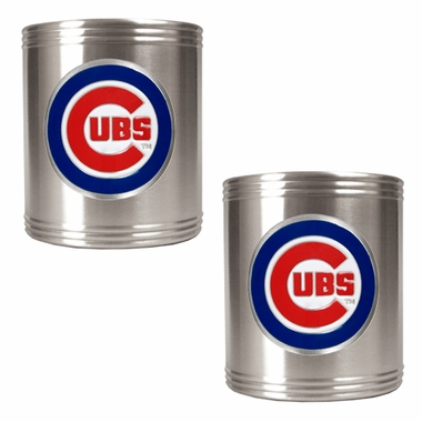Chicago Cubs 2 Can Holder Set
