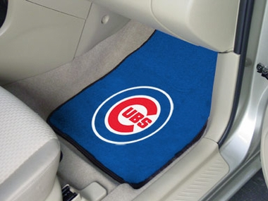 Chicago Cubs 2 Piece Car Mats