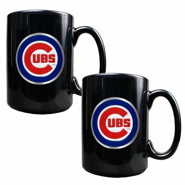 Chicago Cubs 2 Piece Coffee Mug Set
