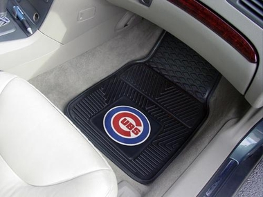 Chicago Cubs 2 Piece Heavy Duty Vinyl Car Mats