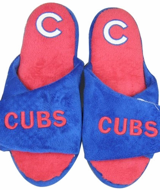Chicago Cubs 2011 Open Toe Hard Sole Slippers