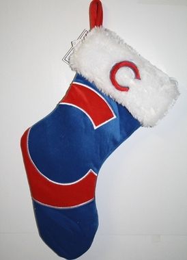 Chicago Cubs 2012 Big Logo Plush Stocking