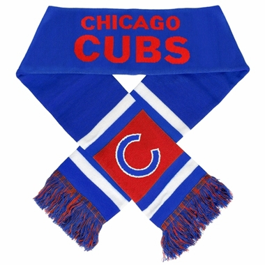 Chicago Cubs 2012 Team Stripe Knit Scarf