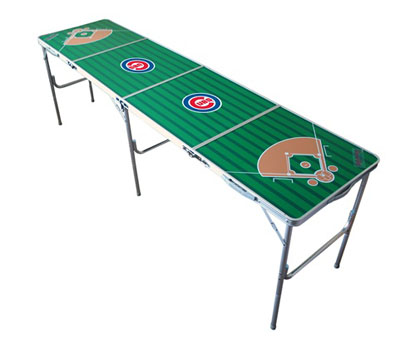 Chicago Cubs 2x8 Tailgate Table