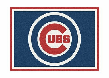 "Chicago Cubs 3'10"" x 5'4"" Premium Spirit Rug"