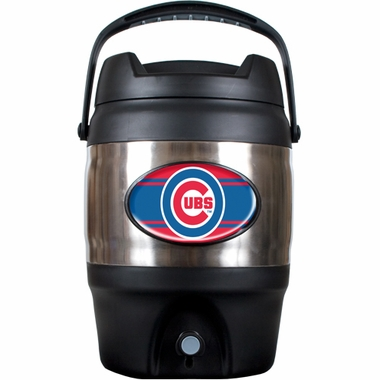 Chicago Cubs 3 Gallon Stainless Steel Jug